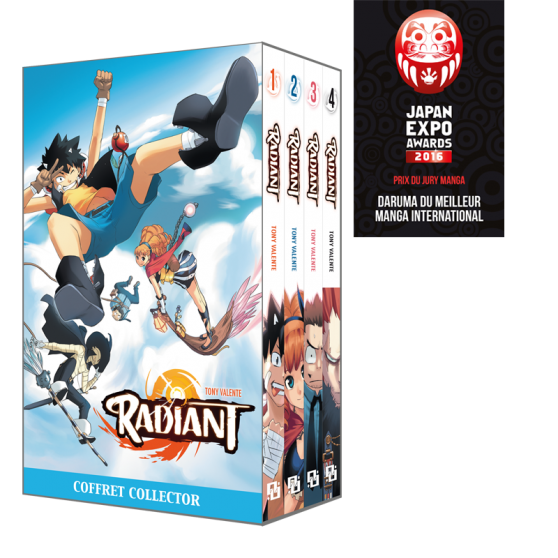 Radiant Boxed Set: Volumes 1 to 4