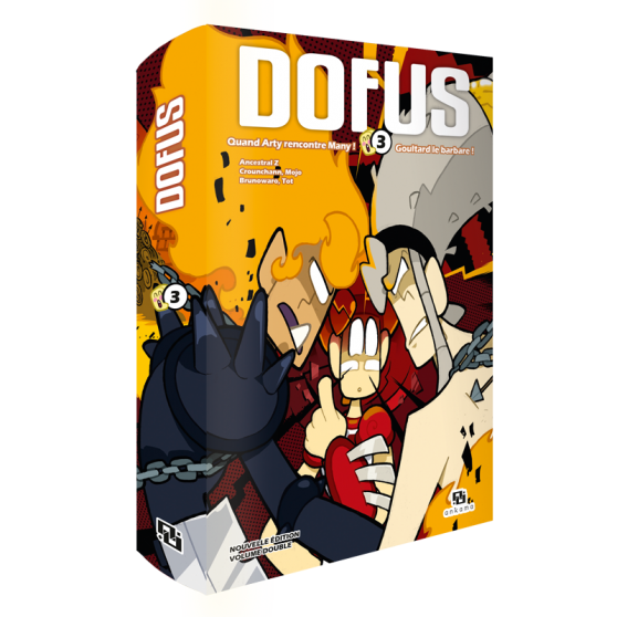 DOFUS TDOUBLE 3 MANGA EDITION SPECIALE 10 ANS
