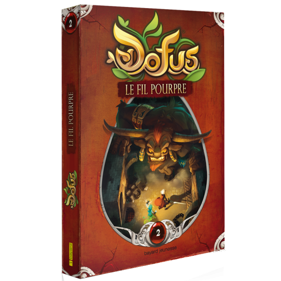 DOFUS Volume 2: Le Fil Pourpre – Novel