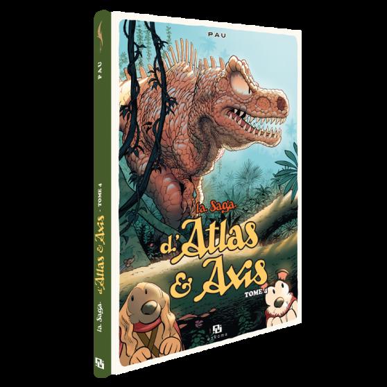 La Saga d'Atlas et Axis Tome 4