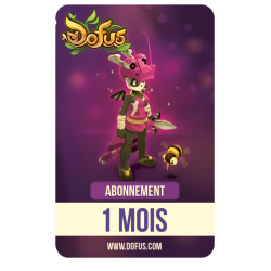 1-Month DOFUS Subscription Card