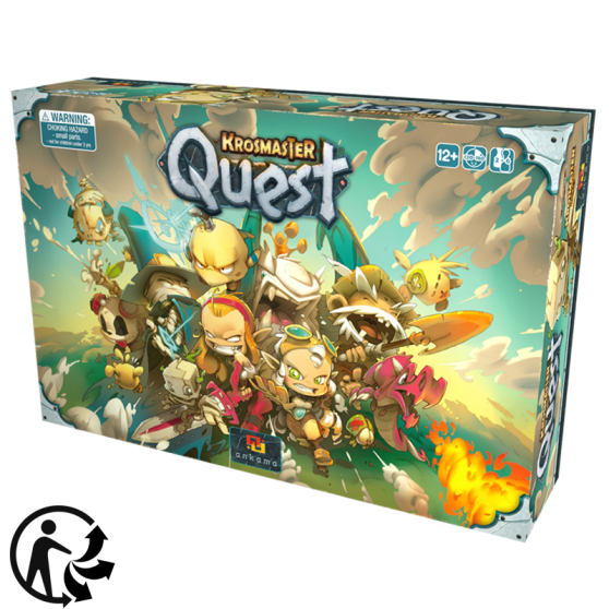 Krosmaster Quest Board Game