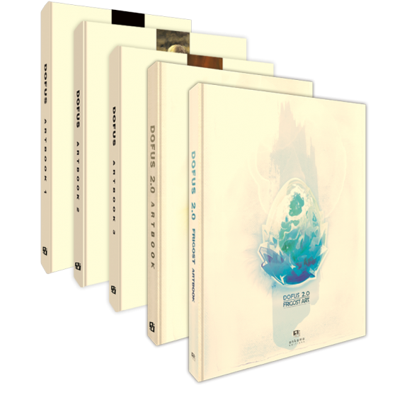 DOFUS Artbook – Complete 5-Volume Edition