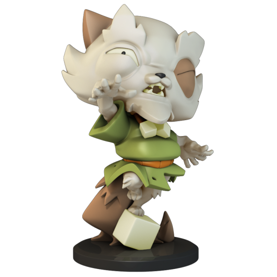 Grampy Merchant – Krosmaster Figurine (US Version)
