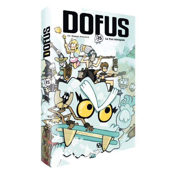 DOFUS Tome 15 Collector : Le Yen intrépide
