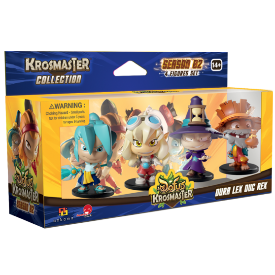 Pack Krosmaster Dura Lex Doo Rex (Version US)