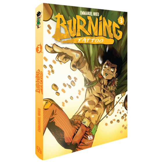Burning Tattoo Tome 3