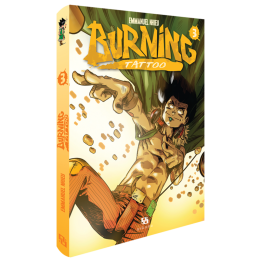 BURNING TATTOO 3 MANGA