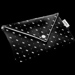 Mini-pochette Chacha - Grise ou noire