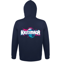 Krosmaga Hoodie (Gray or Navy) + Gold Booster