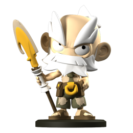 Ruel - Figurine Krosmaster (Version US)