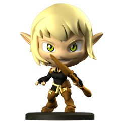 Evangelyne – Krosmaster Figurine (US Version)