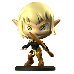 Evangelyne - Figurine Krosmaster (Version US)