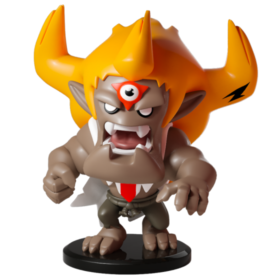 Tristecoeur - Figurine Krosmaster (Version US)