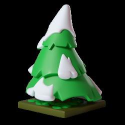 Kwismas Tree – Krosmaster Figurine