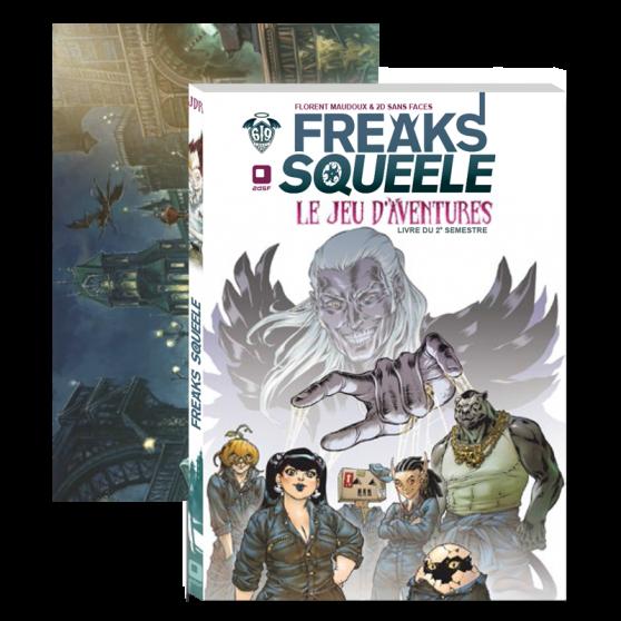 Freaks' Squeele: Le jeu d'aventures – Screen + Booklet