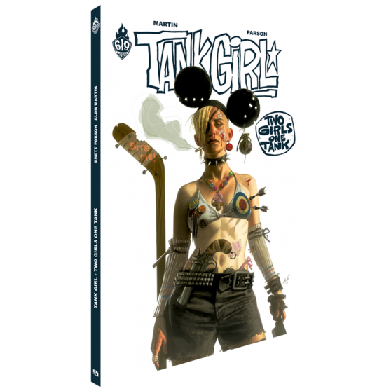 TANK GIRL T.9 2 GIRLS 1 TANK BD 2 GIRLS 1 TANK