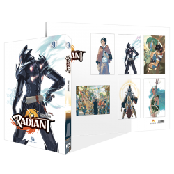 Pack Radiant : T. 9 + pack 6 posters