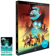 Pack DVD WAKFU Saison 3 + Carte costume Oropo pour WAKFU