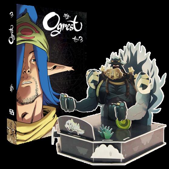 Ogrest Volume 3 + paper toy pack