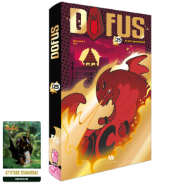 DOFUS Volume 25 Collector Edition + Osamodas emote card
