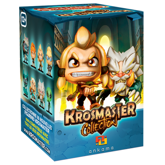 "Krosmaster Arena Blind Box – ""Brotherhood of the Forgotten"""