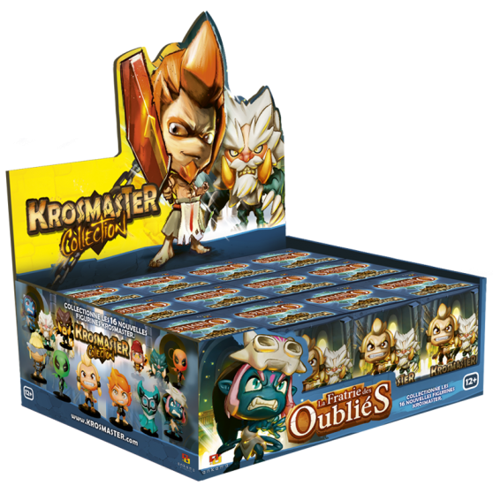 Calendrier De L Avent Wakfu.Set Of 12 Krosmaster Arena Blind Boxes Brotherhood Of The Forgotten