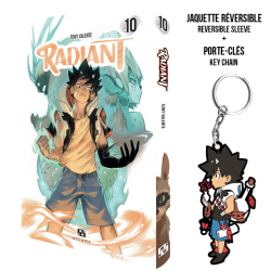 Radiant Tome 10 Collector + porte-clés
