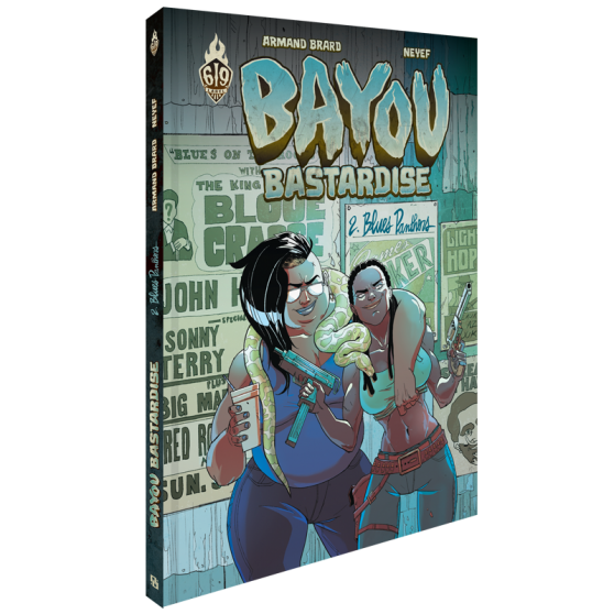 Bayou Bastardise Tome 2 : Blues Panthers