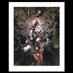 Freaks' Squeele Funérailles – affiche Fine Art