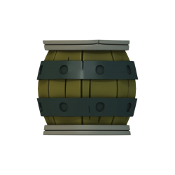 Barrel - Krosmaster Figurine