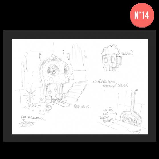 DOFUS Concept Art – Category 1 - 20×30 cm