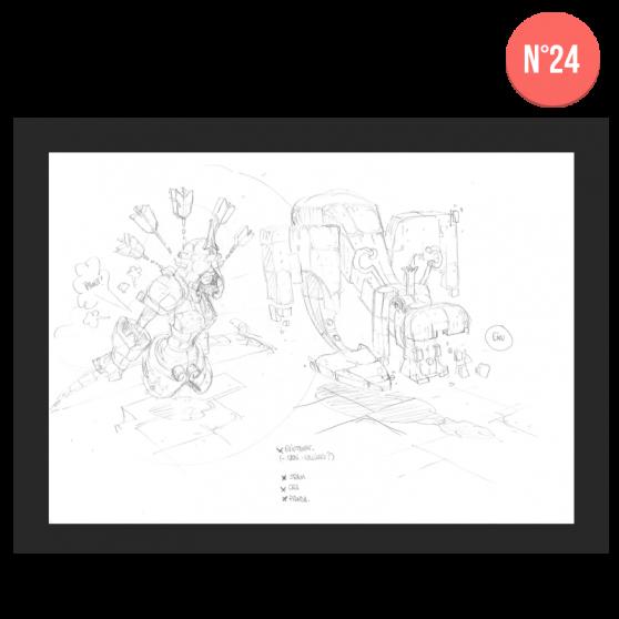 DOFUS Concept Art – Category 2 - 30×40 cm