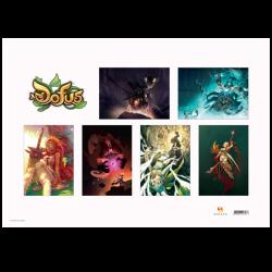 Pack de 6 posters DOFUS