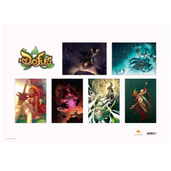 Pack of 6 DOFUS Posters
