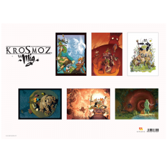 Pack of 6 Krosmoz Posters by Mig