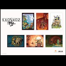 Pack de 6 posters Krosmoz par Mig
