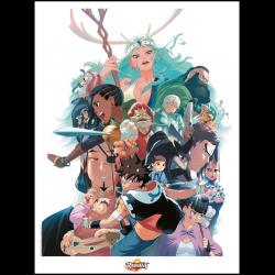 Radiant Poster 30 × 40 cm