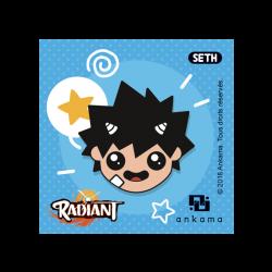 Radiant Pin - Seth