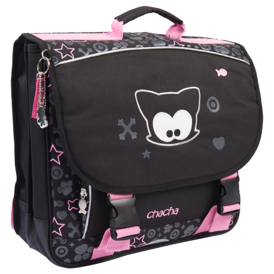 Sparkling Bow Meow Book Bag