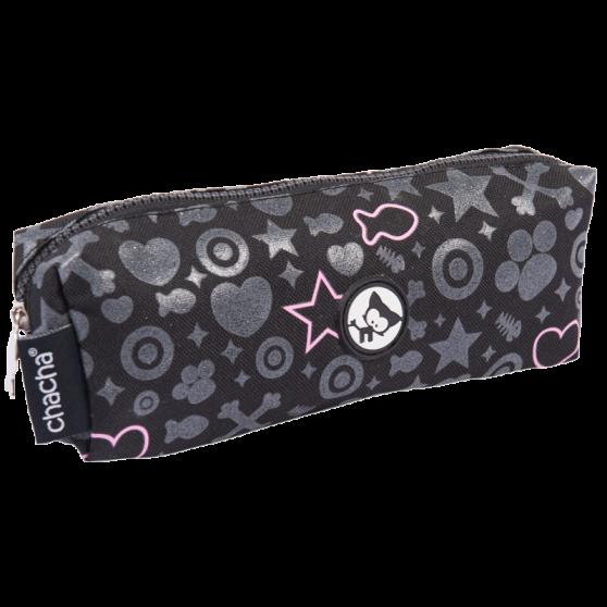 Sparkling Bow Meow Rectangular Pencil Case
