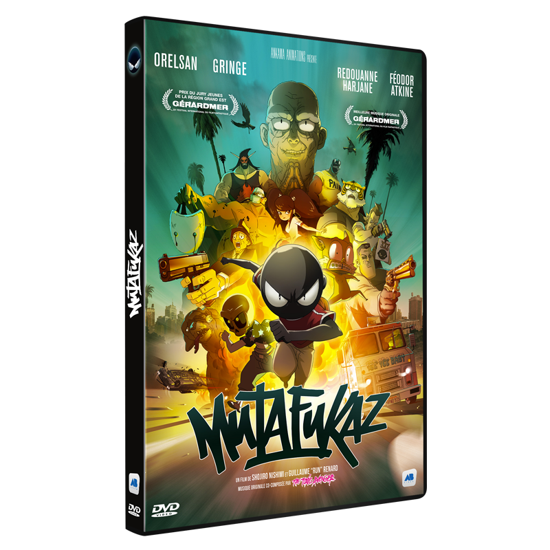 Mutafukaz Mfkz The Movie Dvd