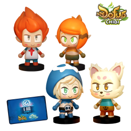 Pack Les 4 As Chibi