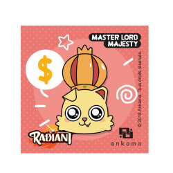 Radiant pin - Master Lord Majesty
