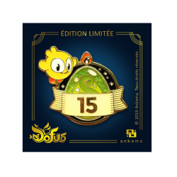 DOFUS 15th anniversary pin