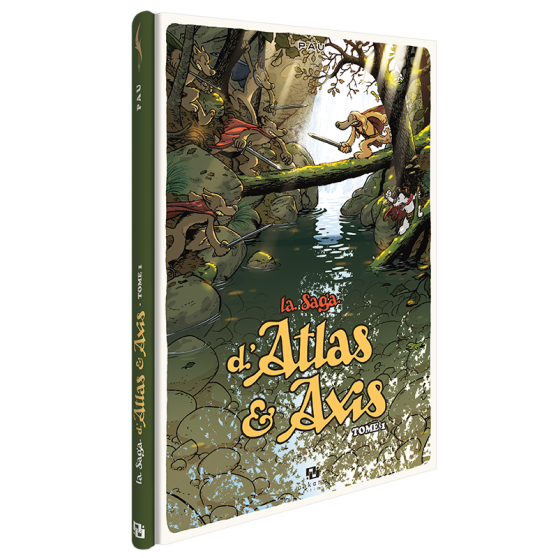 La Saga d'Atlas et Axis Volume 1