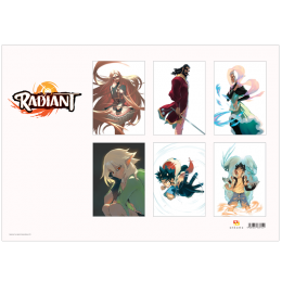 Pack of 6 Radiant 2019 Posters