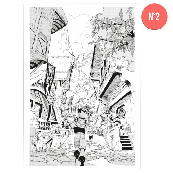 Radiant Reproduced Manga Page (1 to 4)