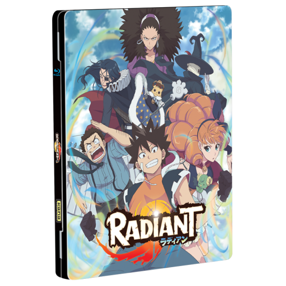 Coffret Blu-ray steelbook Radiant saison 1