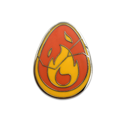 Crimson Dofus pin